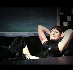 Mistress Alex in latex