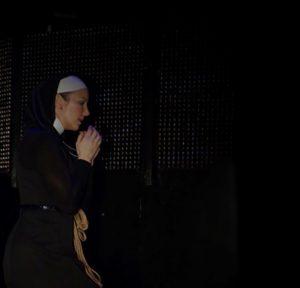Mistress Alex in prayer